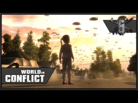 Defending the Highway Bridge, Seattle Suburbs - World in Conflict - Mission 3 (USA)