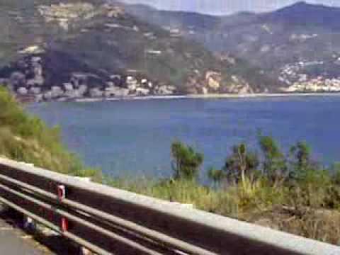 Capo Mele Laigueglia Pedalando con.. - YouTube