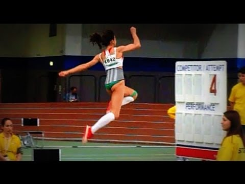WMACi W45 Long Jump - slow motion