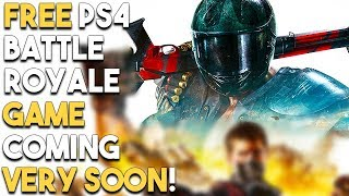 FREE PS4 Battle Royale Game Coming VERY SOON! BIG PS4 Game Deals Update!