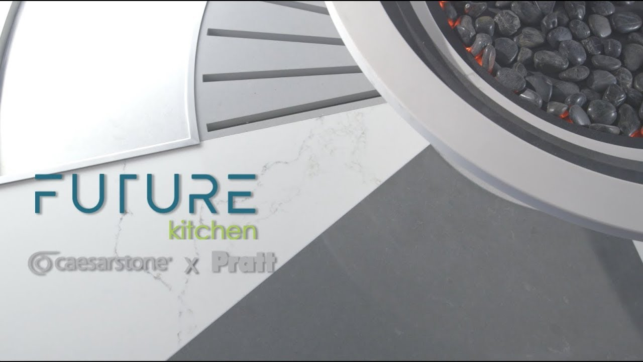 Caesarstone Future Kitchen - YouTube