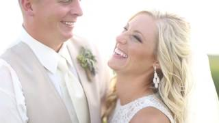 Holly & Alleck: Adorable Wisconsin High School Sweethearts Wed