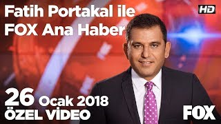 Mehmetçik Suriyeli ailenin yüzünü güldürdü 26 Ocak 2018 Fatih Portakal ile FOX Ana Haber