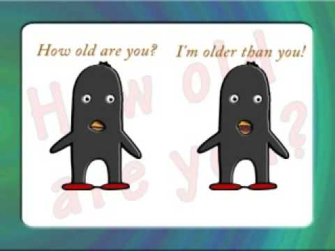 How old are you? by Peter Weatherall