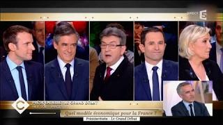 Le grand débrief du grand débat - C à vous - 21/03/2017