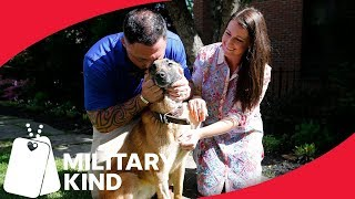 Staff sergeant's emotional reunion with his best friend