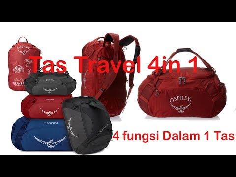 Tas Travelling duffel bisa daypack 4 in 1 Osprey Transporter