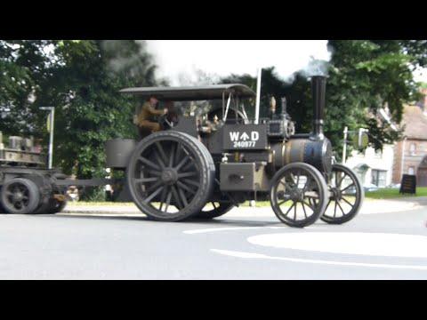 Amazing GDSF WW1 Steam Convoy -