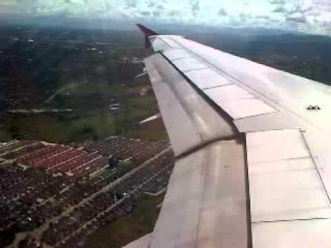 AirAsia FD 4016 HDY (HatYai)- CNX(ChiangMai) Landing...
