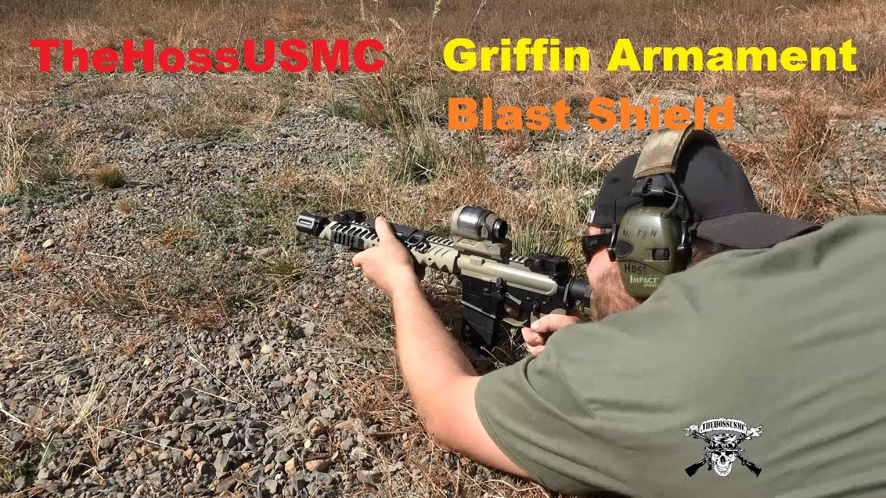 Griffin Armament Blast Shield
