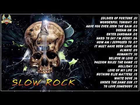 The Best Rock Songs 70's 80's 90's - Nonstop Slow Rock 80s 90s Playlist