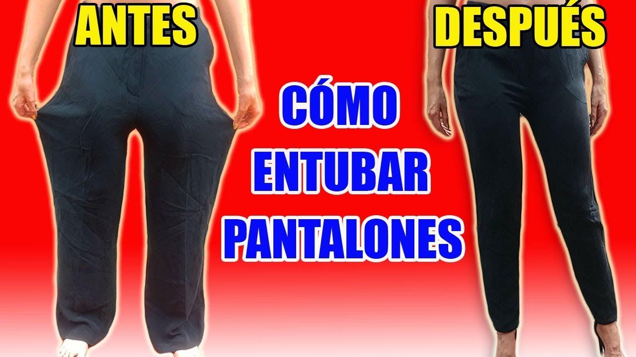 Ajustar Reducir Y Entallar Un Pantalón En La Cintura Y En La Cadera Como Un Profesional Marig Youtube