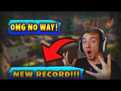MY NEW KILL RECORD - Fortnite Battle Royale (You won't believe how it ends)