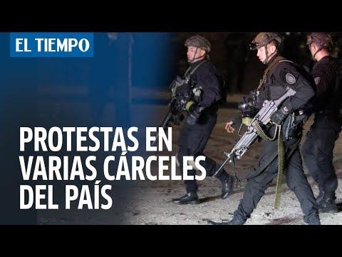 Protestas y caos en La Modelo y otras cárceles del país