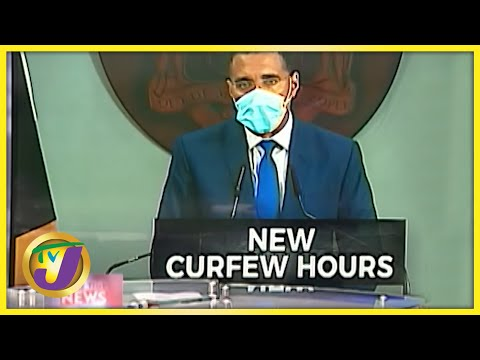 PM Announces New Covid Measures in Jamaica | TVJ News - July 26 2021