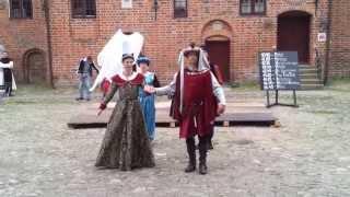 Pavane medieval dance.