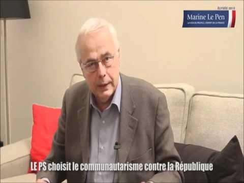 Marine Le Pen - Le PS choisit le communautarisme contre la République !