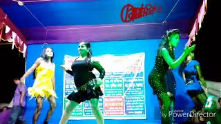 Purulia stage dance Jhiri jhiri Jol poriche hot song   Chandan Sarkar presenting