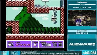 Panic Restaurant by EggmaniMN in 14:23 - Summer Games Done Quick 2015 - Part 89