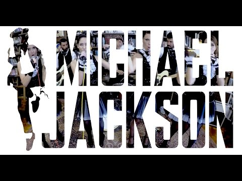 Michael Jackson - Black or White, Beat it & Thriller (by Broken Peach)