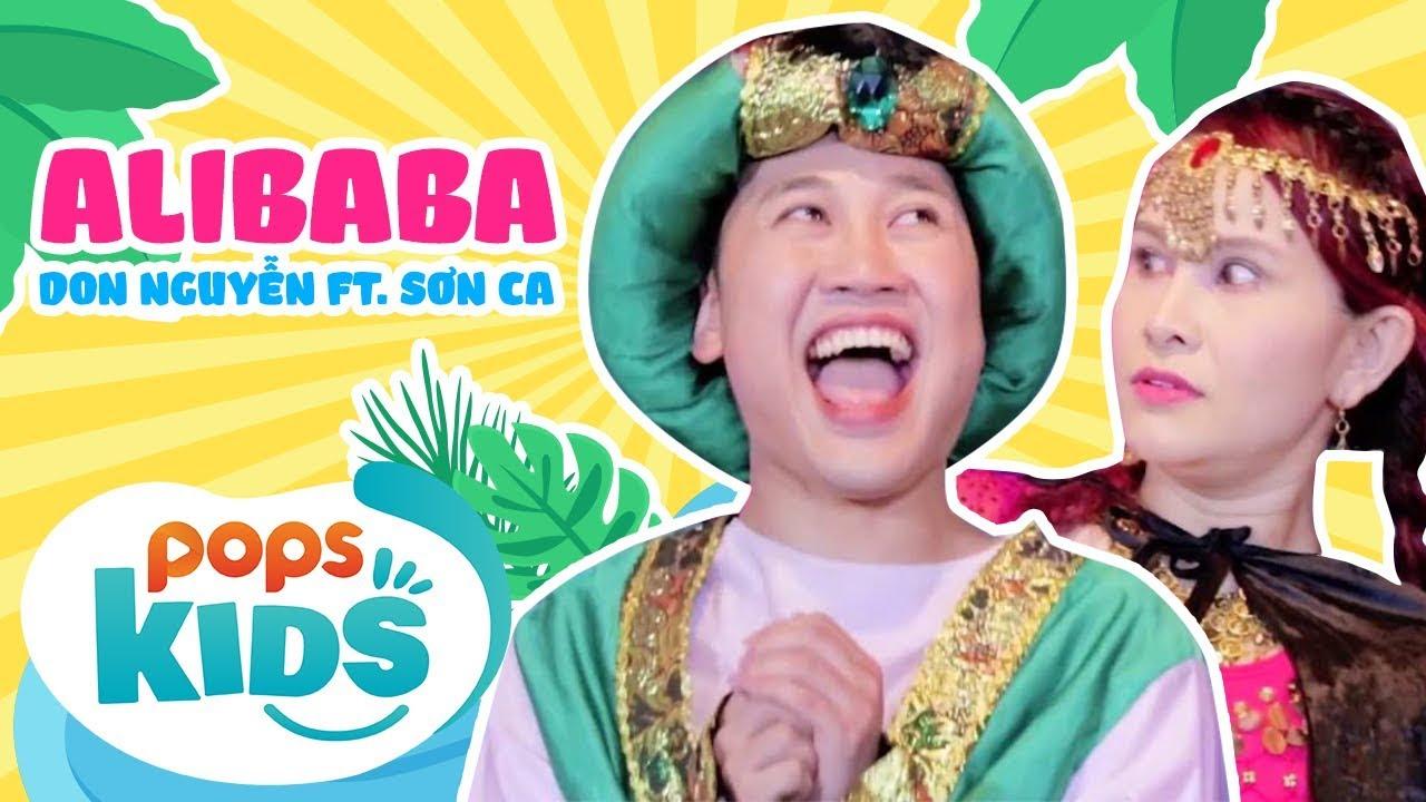 Alibaba - Don Nguyễn ft Sơn Ca   Nhạc Thiếu Nhi Sôi Động