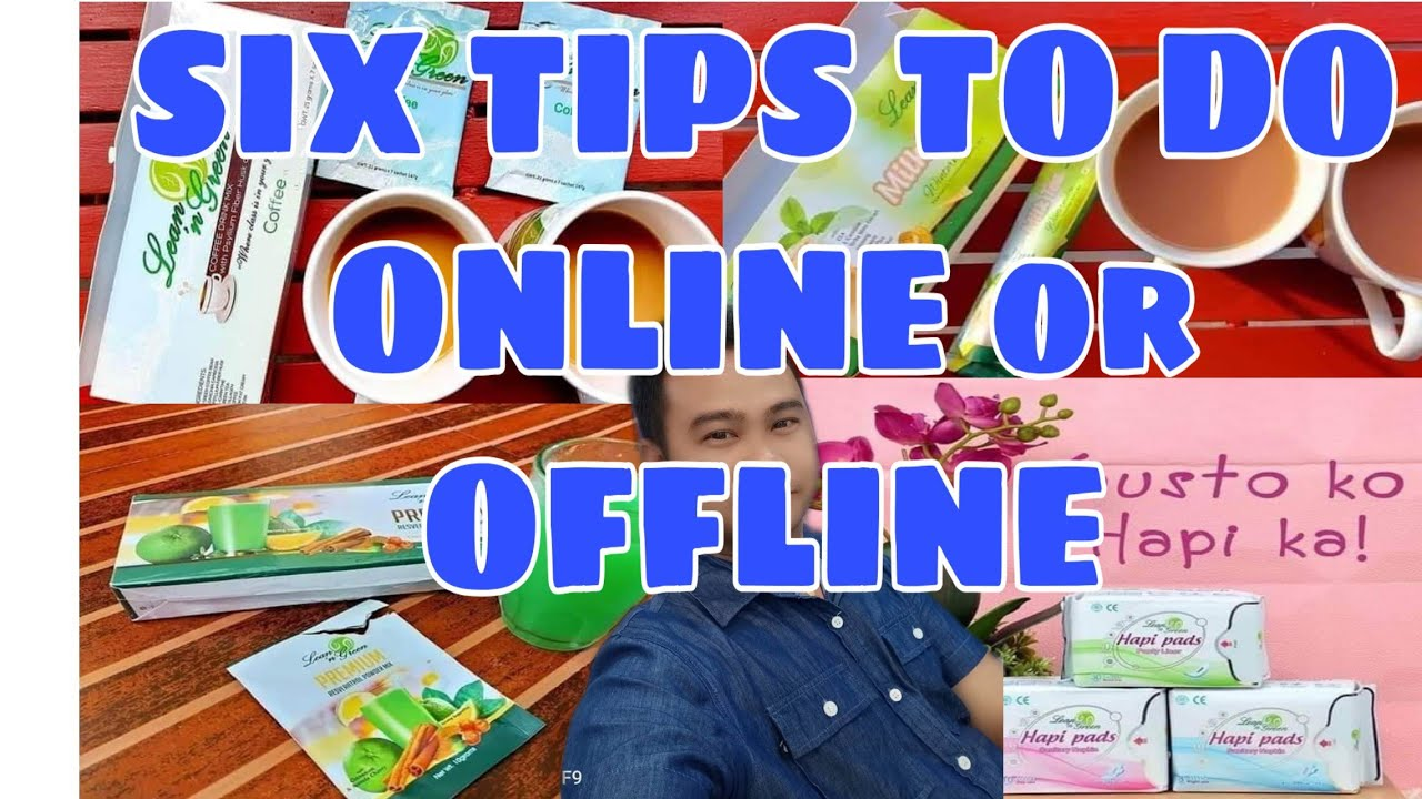 Six tips to do an online business