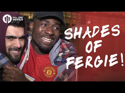 Shades of Fergie! | Manchester United 3-2 Southampton | FANCAM