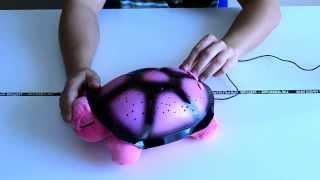 """Идеи подарков: Ночник - проектор """"Морская Черепаха"""" (видео обзор)"""