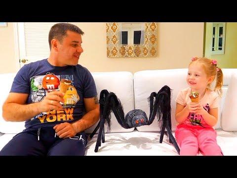Настя играет с папой - сборник историй для детей