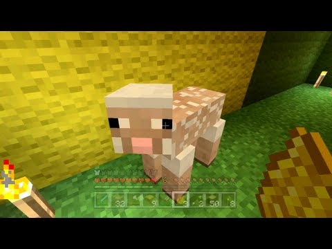 Minecraft Xbox - The Hungry Sheep [90]