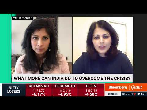 Gita Gopinath On Coronavirus' Economic Impact