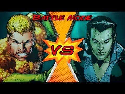 Aquaman Vs Namor Dc Comics Vs Marvel Battle Mode Ep 31 Youtube