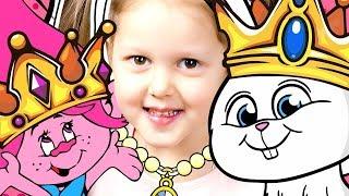 Тайная Жизнь Домашних Животных и Тролли Кролик Снежок и Розочка Примеряем Украшения Свинки Пеппы