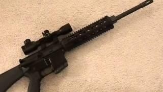 First Look: My Ghetto AR15 SPR / DMR build
