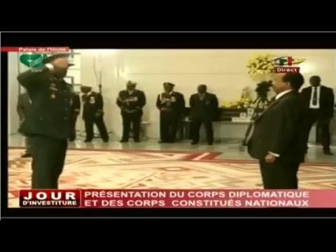 Présentation du Corps Diplomatique et des Corps Constitués Nationaux