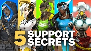 5 Secrets about Overwatch's Support Heroes by Jeff Kaplan (Feat. Unseen Development Footage)