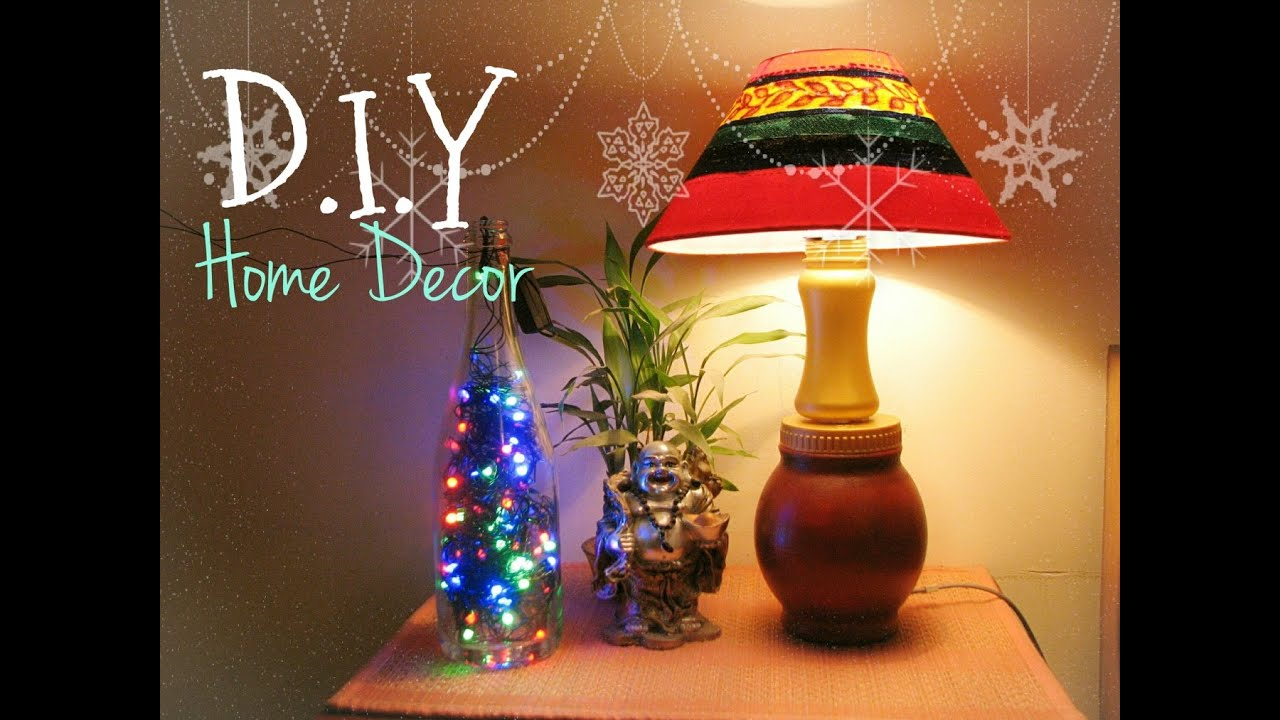 D i y christmas new year home decor terracotta lamp Latest christmas decorations