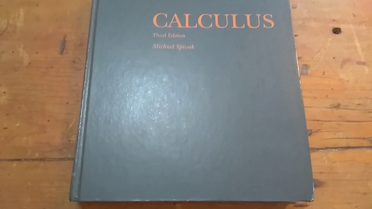"""Download The Most Famous Calculus Book in Existence """"Calculus by Michael Spivak"""""""