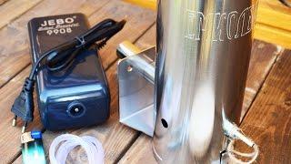 видео дымогенератор для холодного копчения купить