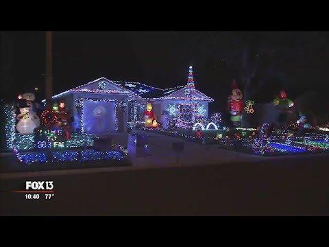 Tampa home has 55,000 Christmas lights synced to music