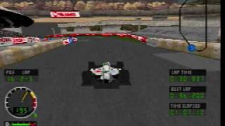 Sega Saturn A - Z - Andretti Racing (Gameplay)