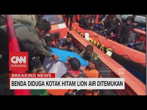 Detik-detik Pengangkatan Benda Diduga Kotak Hitam Lion Air JT-610 Mp3