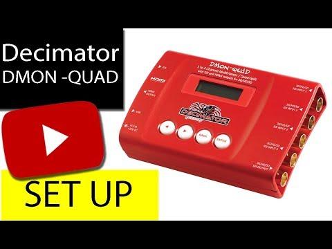 Download Camera Rentals | Decimator DMON-QUAD 4-Channel 3G-SDI Multiviewer | IPGrentals.com
