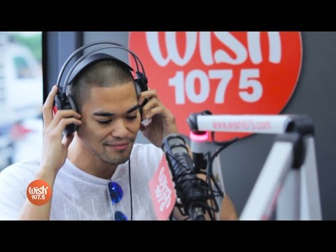 "Jay R sings ""Parachute"" LIVE on Wish 107.5 Bus"
