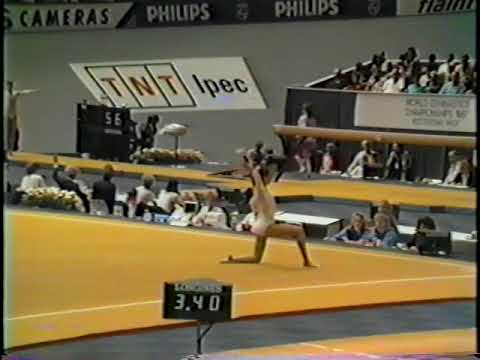 1987 World Gymnastics Championships - Women's Team Optionals, United States (HV)