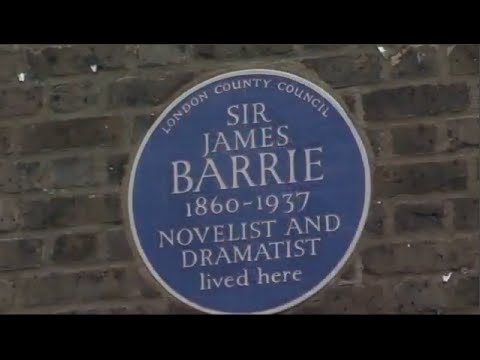 PETER PAN - A Brief History of J.M. Barrie