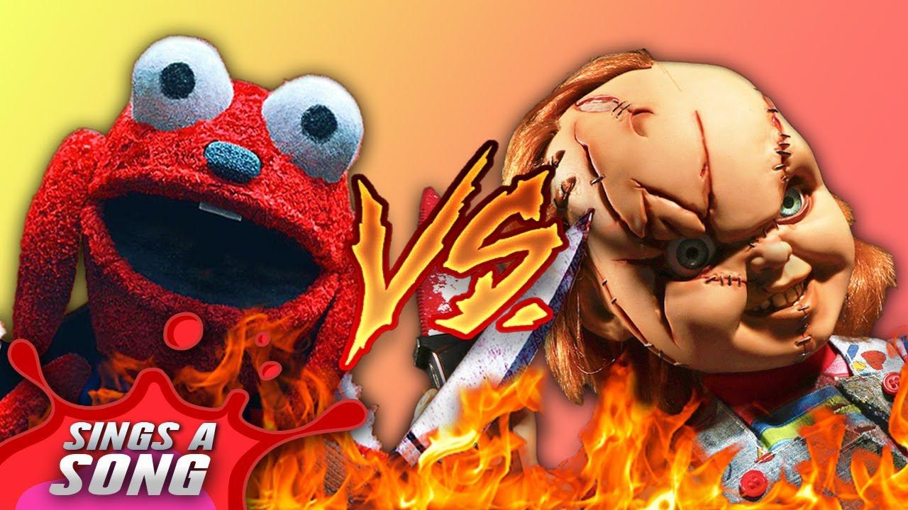 Chucky Vs Benny (Child's Play Vs Benny Loves You Scary Rap Battle Parody)