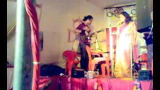 Durga puja in assam bhavan , mumbai