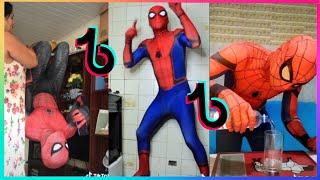MELHORES VÍDEOS DO HOMEM ARANHA DO TIKTOK #5    (@spider_slack)