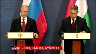 Mit nyert Putyin magyarországi látogatásával?